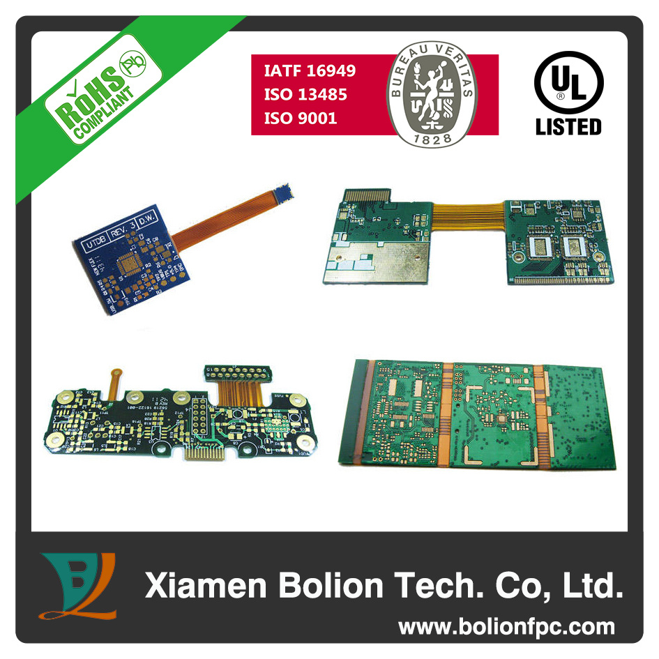 China Flexible Rigid Printed Circuit Board Pcb For Automotive And Catalog Medical Devices