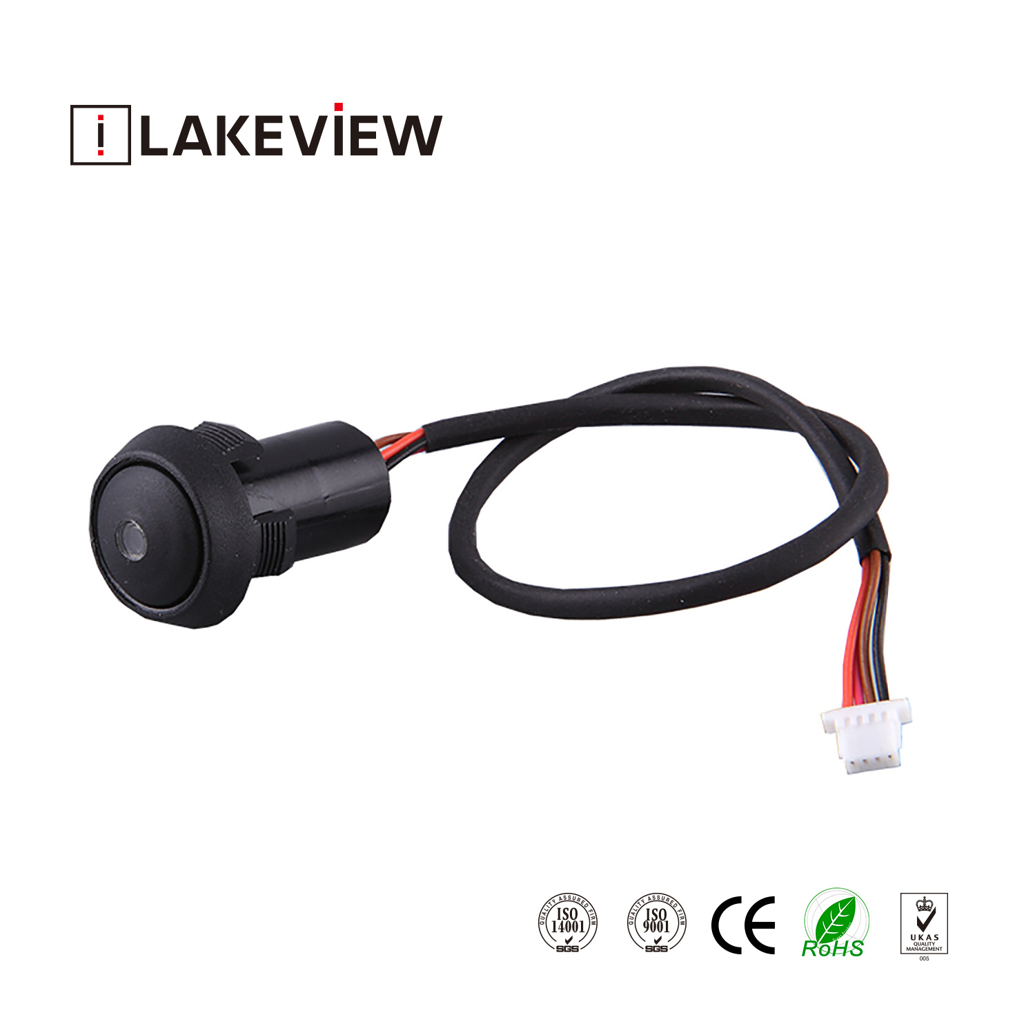 China Ple Sgs Round 8mm Micro Push Button Light Switch With Wiring A Lamp Illuminated Led Actuator