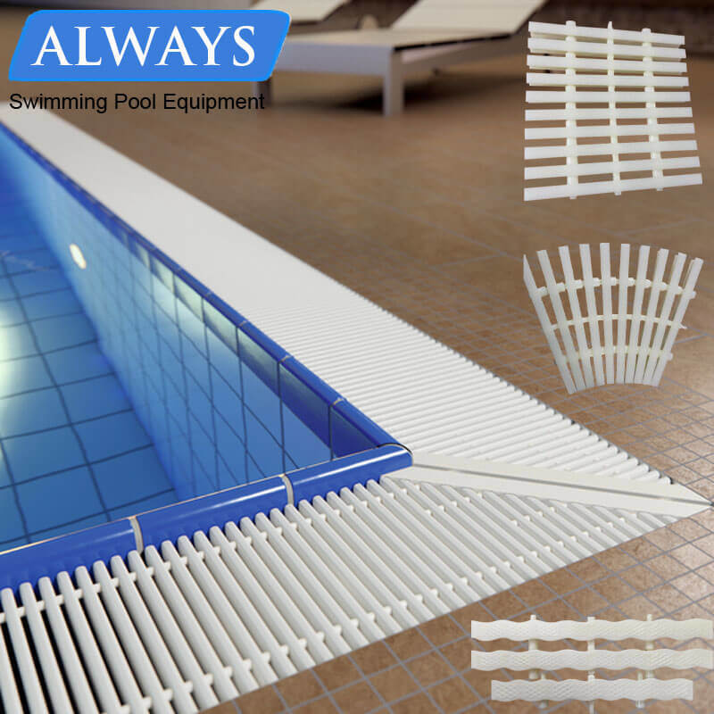 China Cheap Customize Spa Fountain Grating Plastic Grid