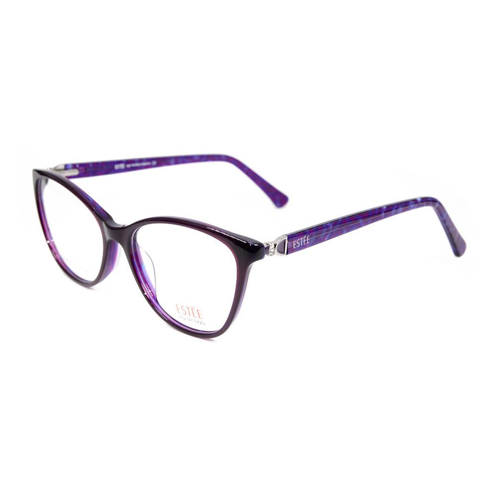 aedd62e4461e Wholesale Fashion Design Diamond Decoration Acetate Optical Frame Latest  Glasses Frames for Girls