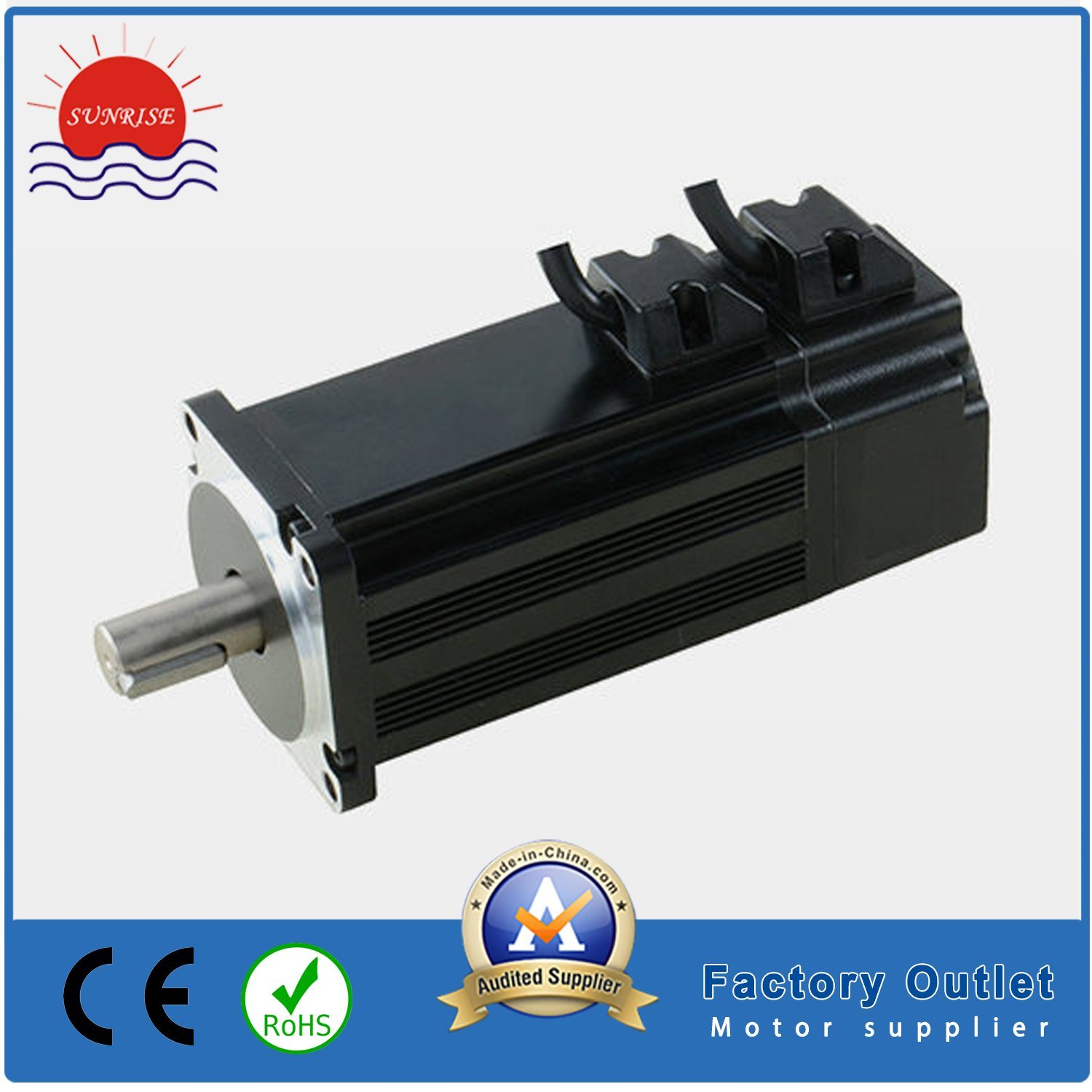 [Hot Item] 60bls3a50 24VDC 0 25n  M Brushless (BLDC) DC Servo Motor Encoder  1000PPR