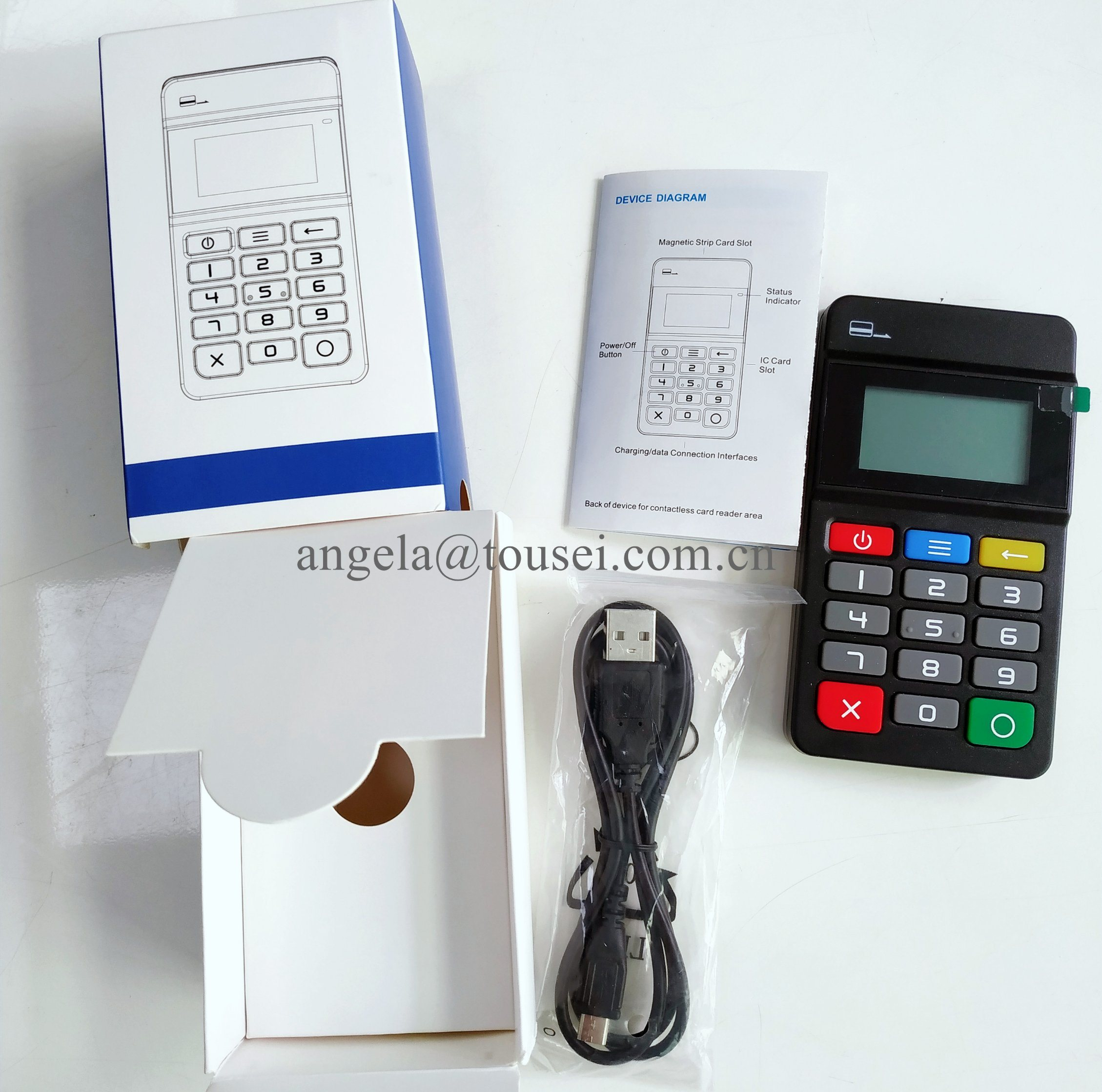 [Hot Item] Mpos for Banking Platform Payment Processor with NFC Sdk  Bluetooth MP45