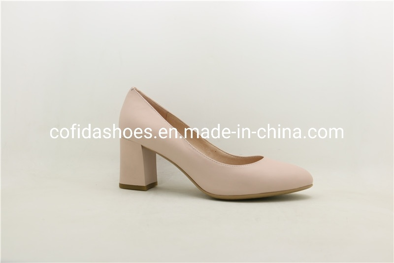 Updated Chunky Heel Fashion Work Shoes