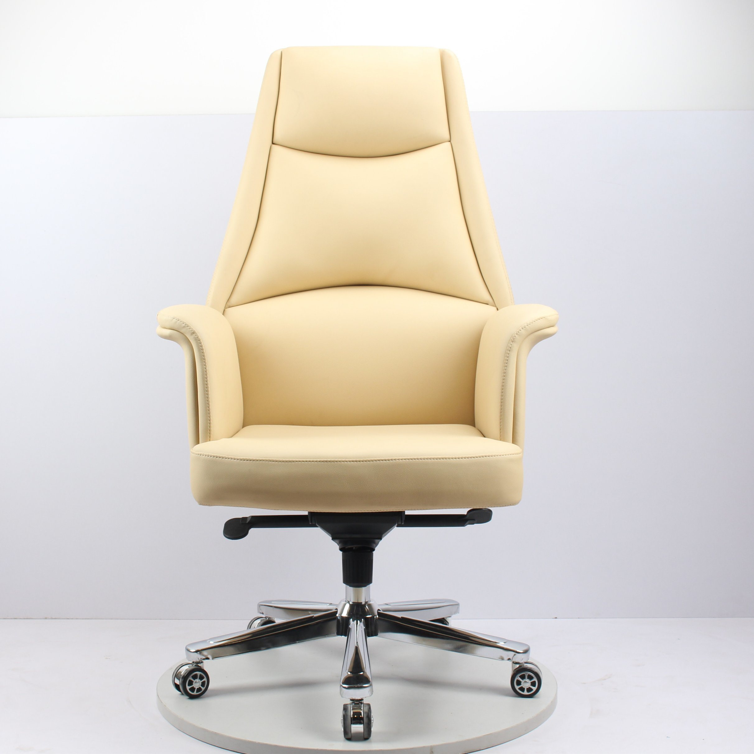 Hot Item Japanese And European Style Simple High Back Cortex Computer Chair Modern Fashion Class Chair High End Office Chair Large And Medium Class