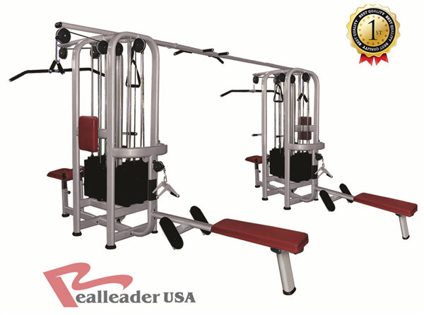 Fitness Equipment Multi-Jungle 4/5/8 Station Machine for Commercial Gym pictures & photos