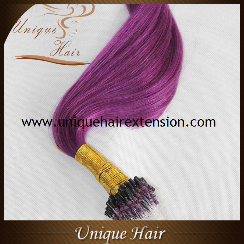 China Cheap Price Indian Remy Micro Beads Hair Extensions China