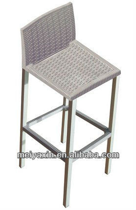 Swell China Mb 142 Rattan Wicker Aluminum Outdoor Bar Stool Andrewgaddart Wooden Chair Designs For Living Room Andrewgaddartcom