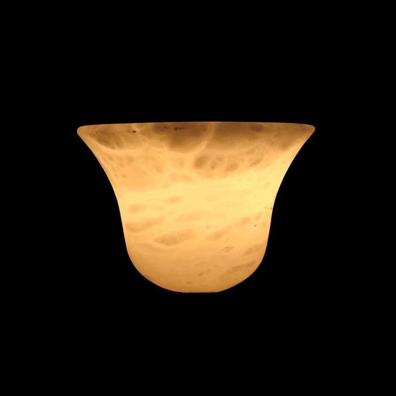 China Natural Alabaster Stone Lamp Shade Ala4415 China