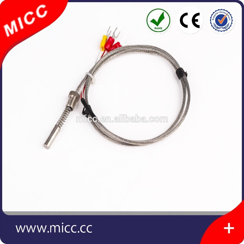 Micc First-Class Industrial Flexible Bayonet Thermocouple with Spring Loaded