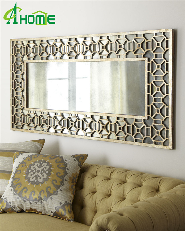 China Hot Classic Full Length Interior Decoration Wall Mirror For Living Room China Mirror Wall Mirror