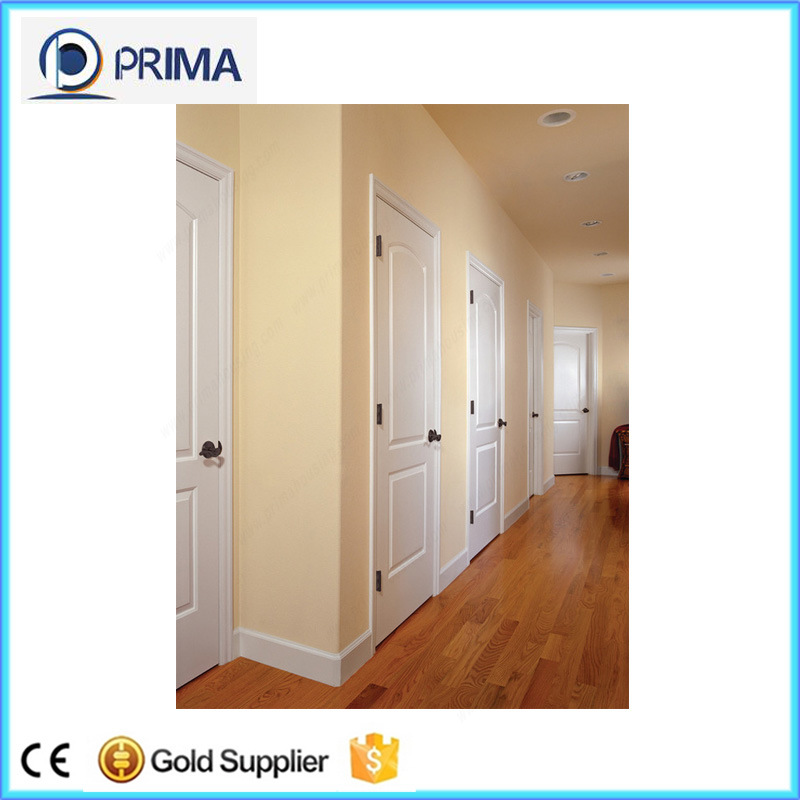 China Interior Solid Wood Timber Door With Frosted Glass Photos