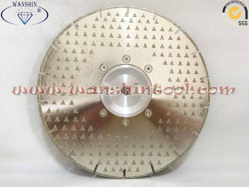 Electroplated Cutting and Grinding Disc for Marble Diamond Tools