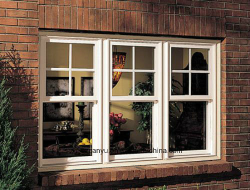 Aluminum Alloy Single Hung Window/Aluminium Windows China Supplier pictures & photos