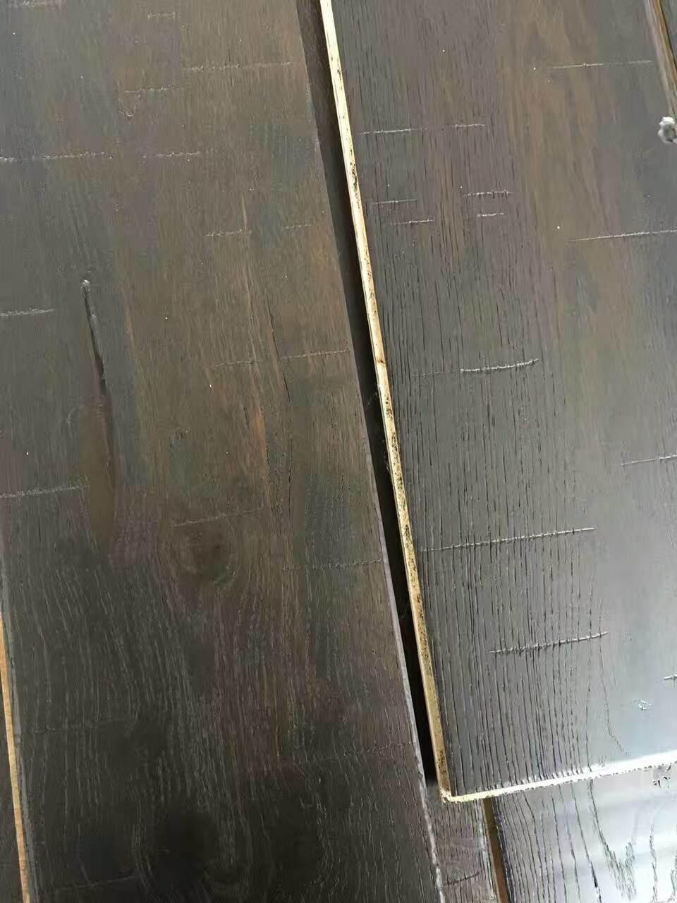 Dyeing Black Oak Engineered Wood Flooring