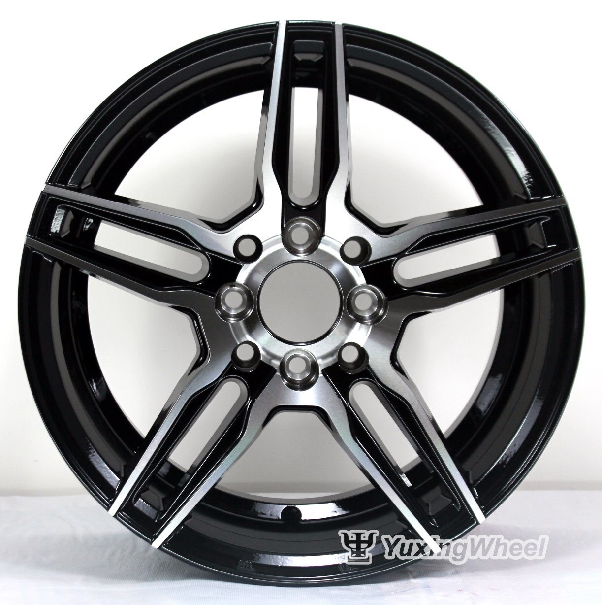 Hot Item 15 16 Inch Hyper Black Alloy Wheel For Car Accessories