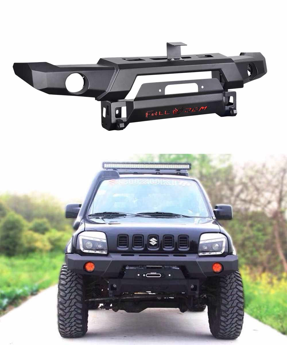 Car Bumper Guard >> China Suzuki Jimny off Road Bar with Winch Holder, Front Bumper, Front Bull Bar, Front Protector ...