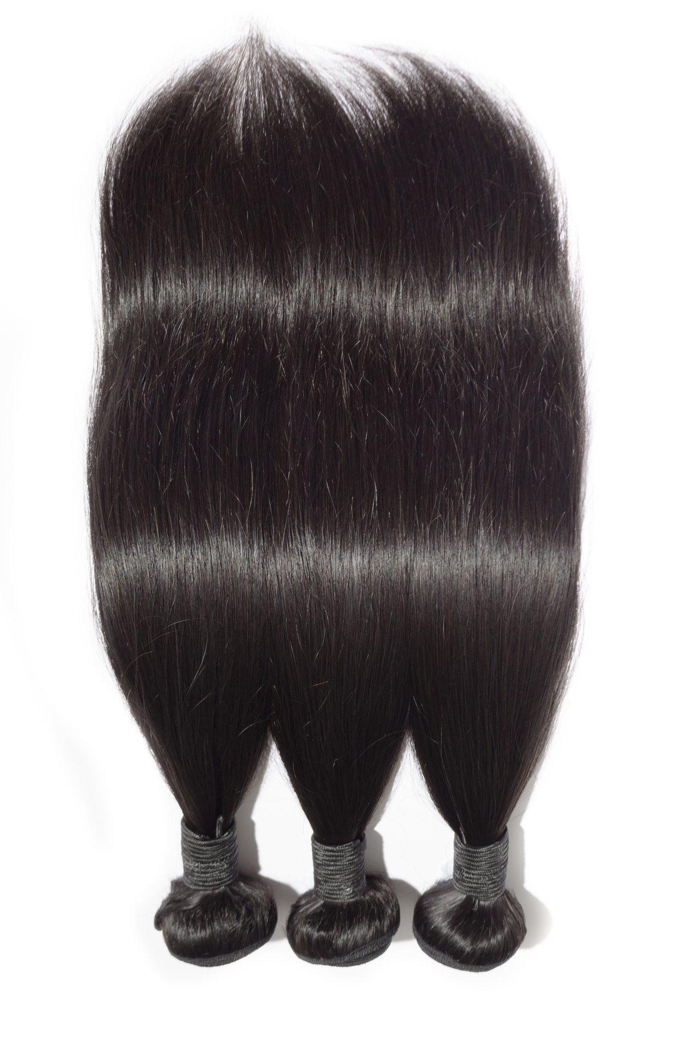 China 14 Medium Length Hair Weaves 100 Virgin Remy Human Hair Jet Black Silk Straight Wholesale Price China Hair Weaves And Hair Weaving Price