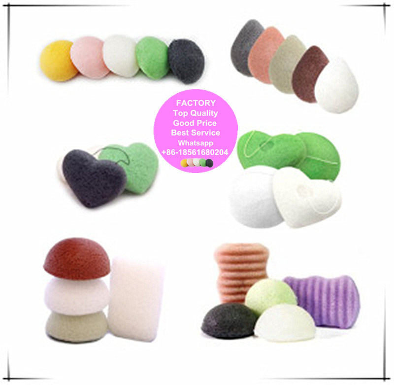 Konjac Sponge 100% Natural Konjac Fibre Sponge pictures & photos