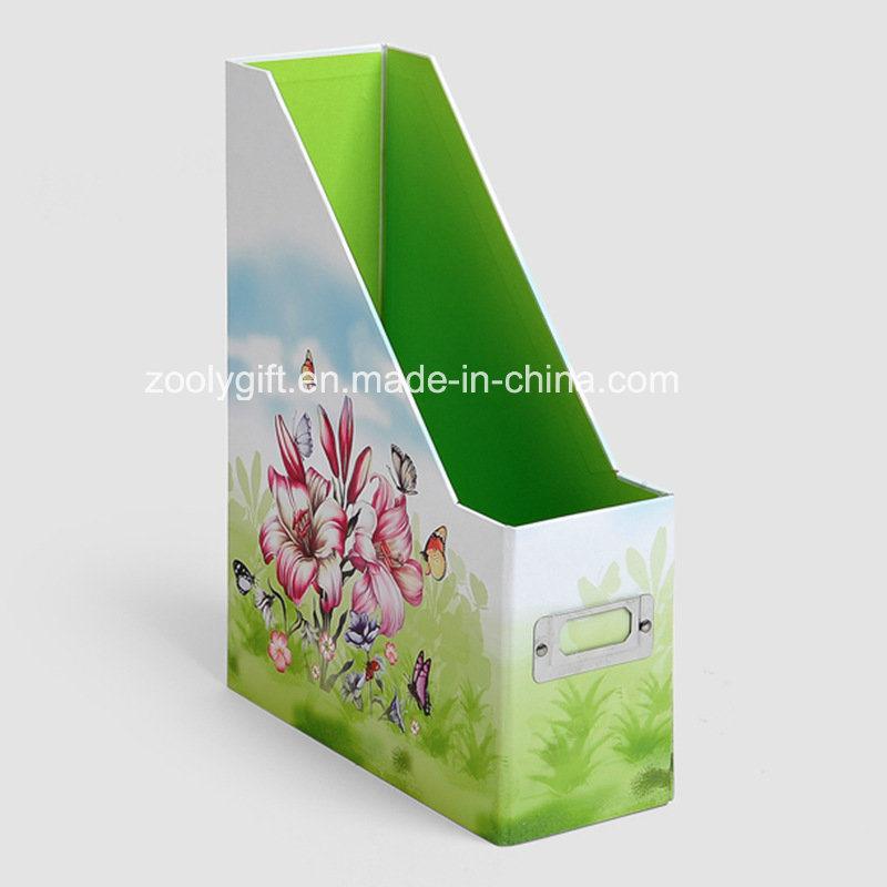Desktop Cardboard File Holder Storage Box