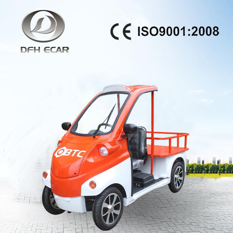 China One Seat Electric Car Utility Vehicle Cargo