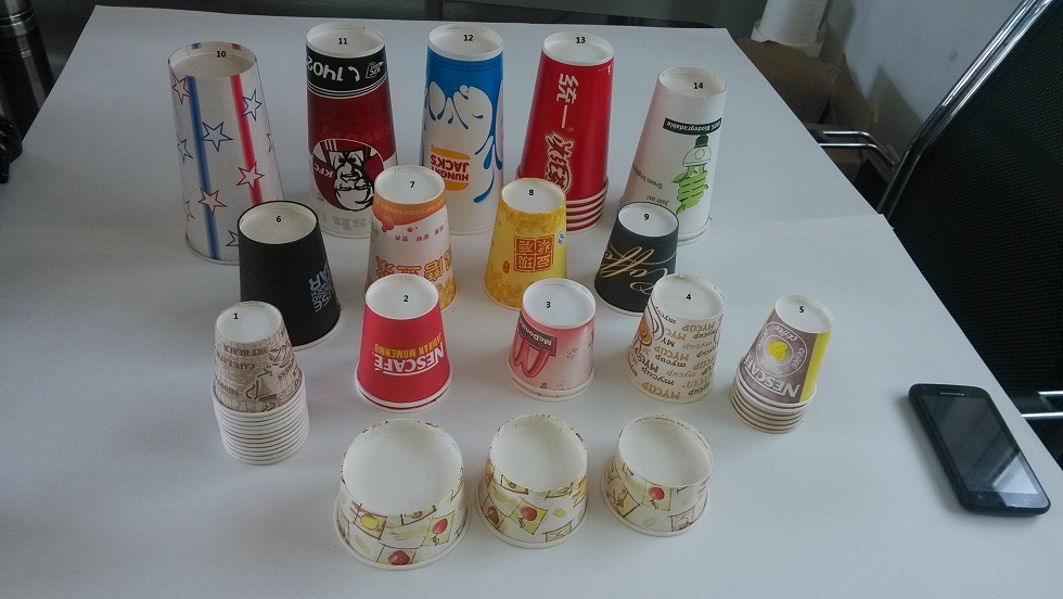 Paper Tea Cup Making Machine (ZSZB-D) pictures & photos