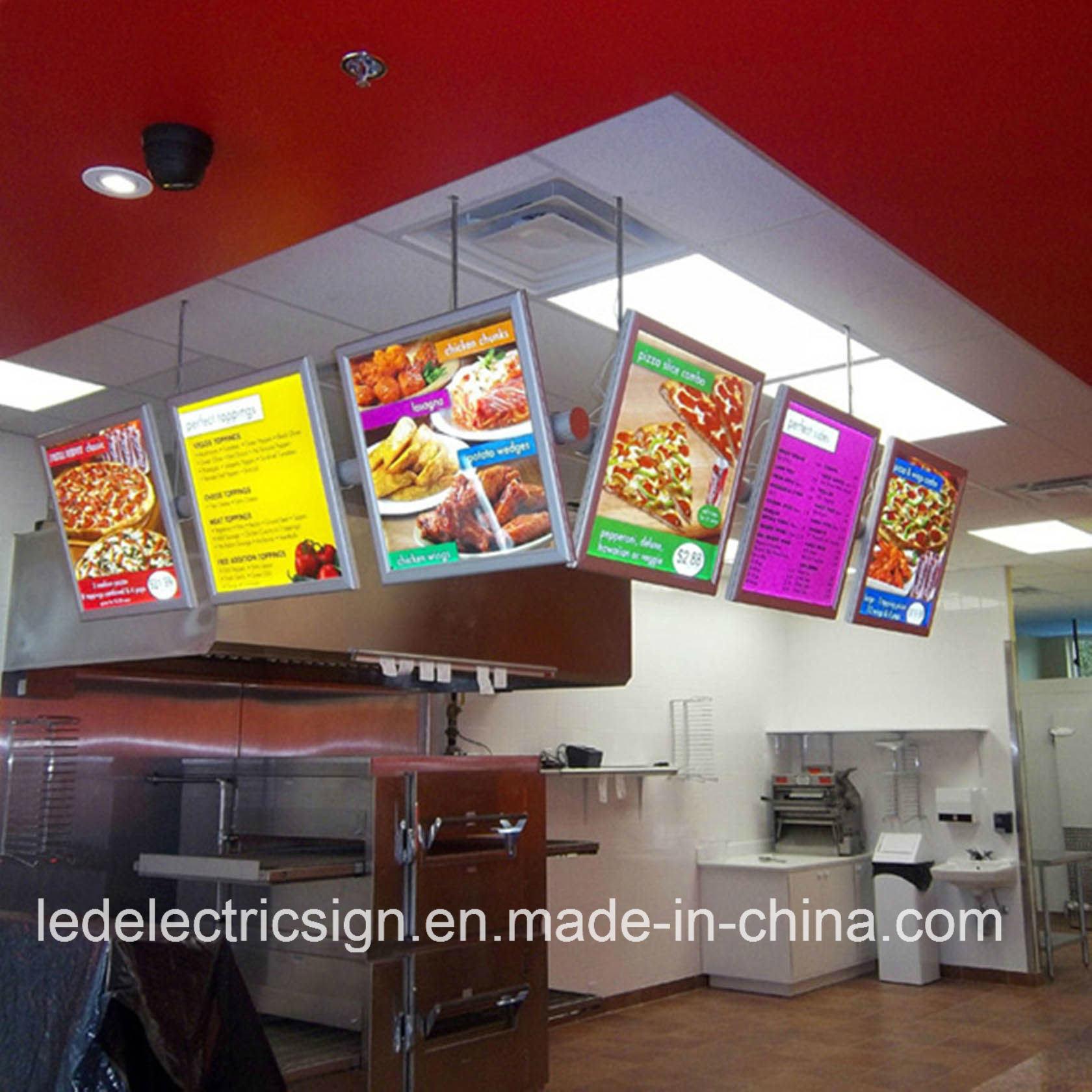 china led menu board advertising light box display china led light