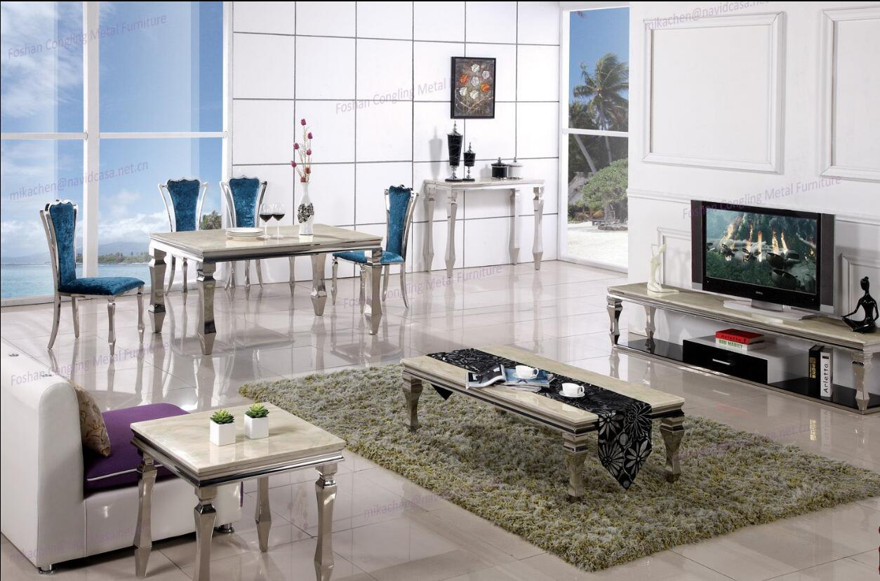China Modern Style Dining Room Furniture Console Table Side Coffee Set