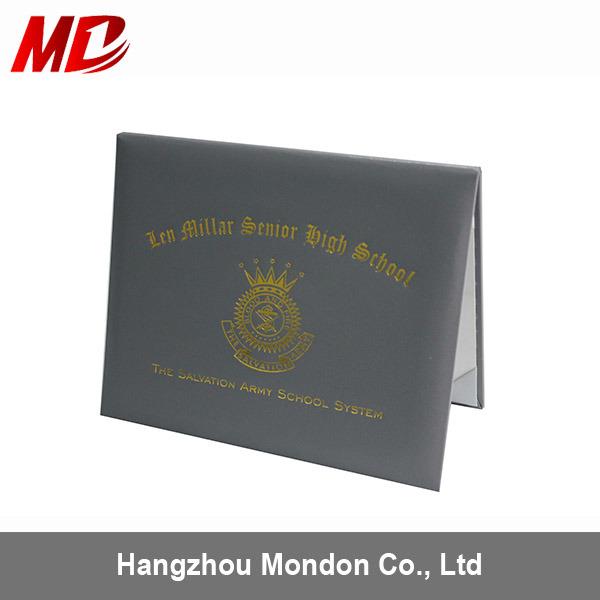 China Wholesale Professional PU Certificate Folder - China ...