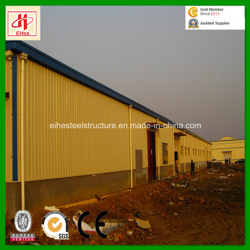 Steel Structural Storage Warehouse for SGS Standard pictures & photos