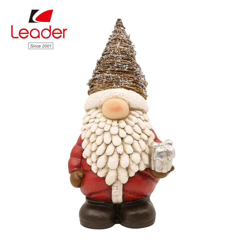 Christmas Gnomes Images.Hot Item Hot Sale Magnesia Christmas Gnomes With Rattan Hat
