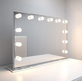 Hollywood Vanity Mirror With Lights Led