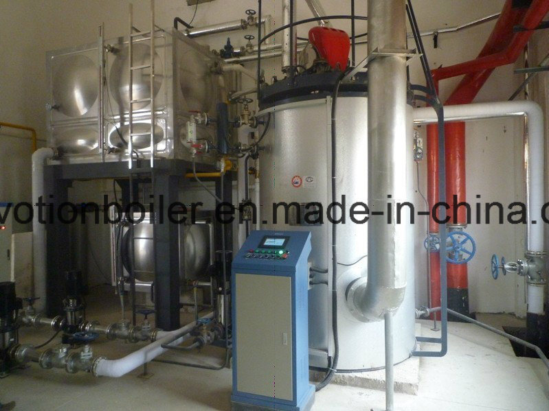 China Quick Install Gas, Diesel, Dual Fuel Steam Boiler Photos ...