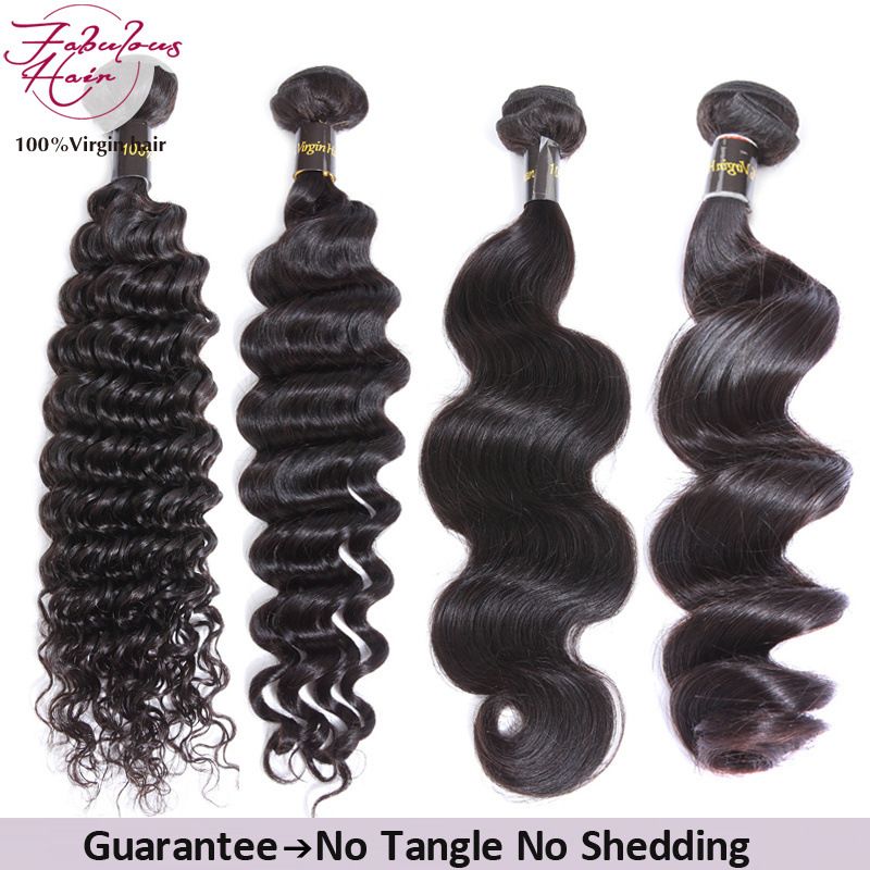 China Factory Supply Original Virgin Remy Hair Extension Brazilian