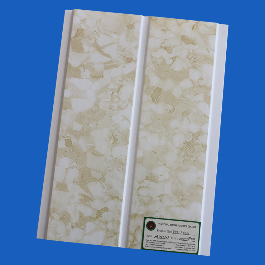 PVC Ceiling Panels with 200cm Width 6mm Thickness One Groove pictures & photos