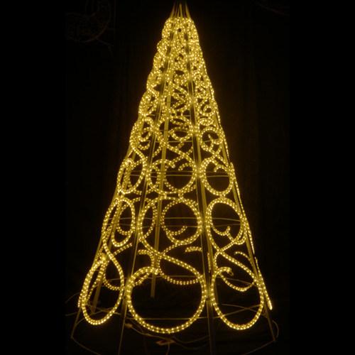 Hot Item Outdoor Xmas Decoration Led Rope Light Christmas Tree Lights