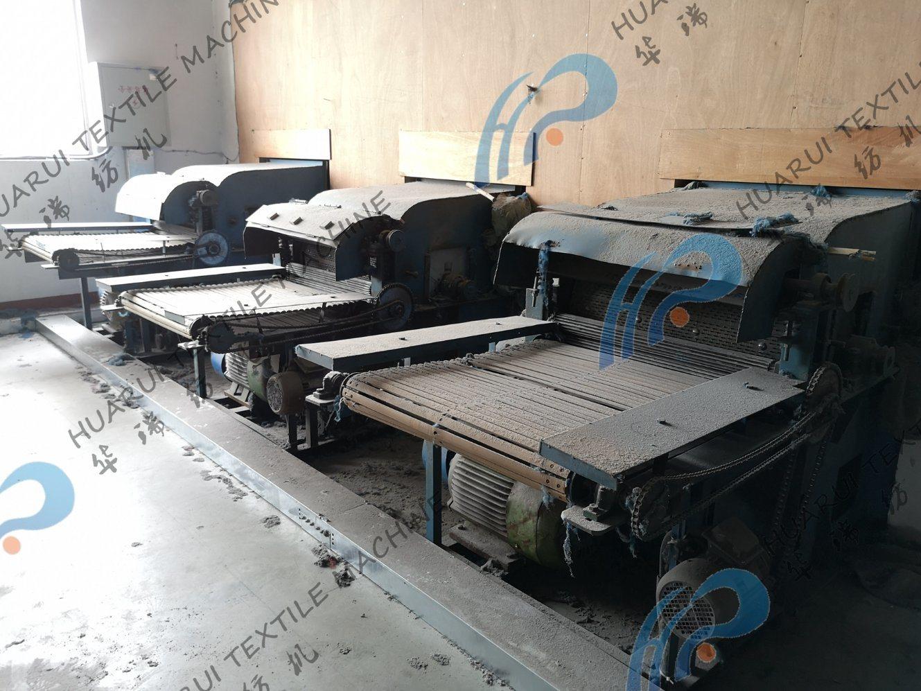 China Nonwoven Fabric Making Opening Machine with Feeding