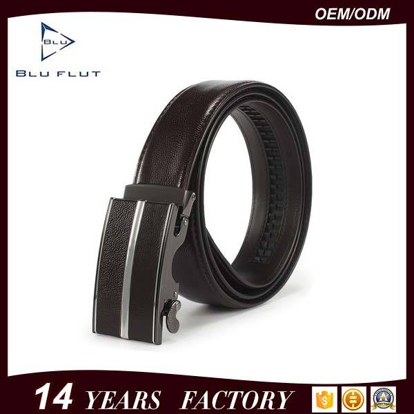 China Men Leather Belt Factory Genuine Cowhide Leather Waist Belts