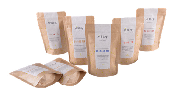 Kraft Paper Coffee Bag/Stand up Pouch with Zipper/ Coffee Bag with Window pictures & photos