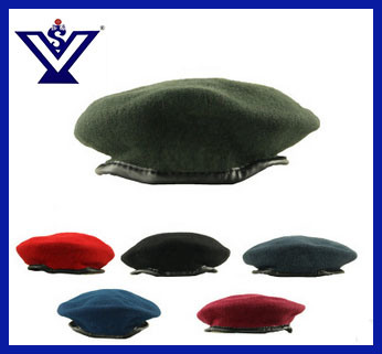 481e4ef89b4 China Colorful Beret Military Hat Police Army Beret Cap (SYSG-1820 ...