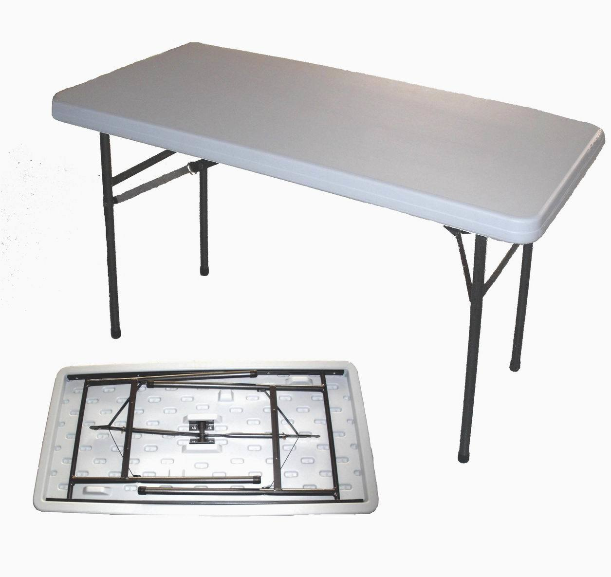China 4 Foot Outdoor Plastic Folding Table Bs Z122