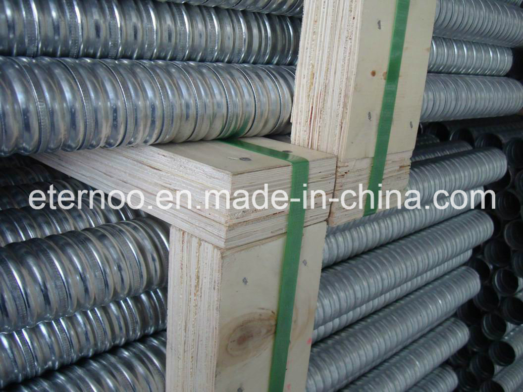 China Post Tension Bridge Galvanized Duct Photos & Pictures - Made ...