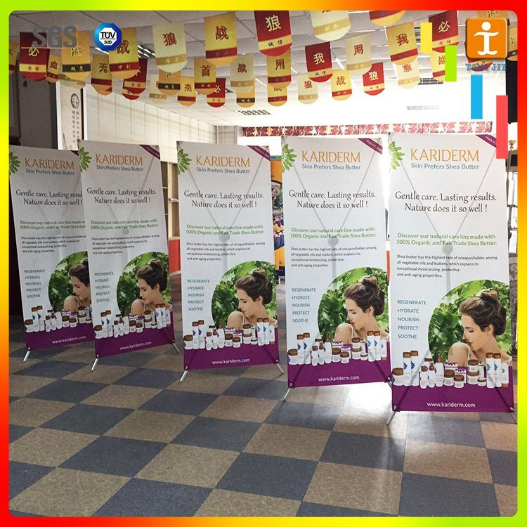 Economically Adjustable Aluminum Alloy X Banner Stand pictures & photos