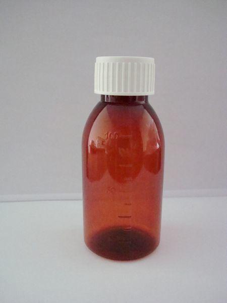 China 100ml Amber Liquid Medicine Bottle China Liquid