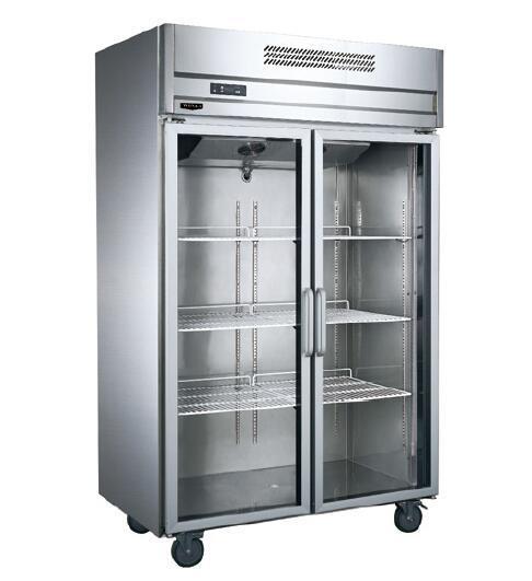China Stainless Steel Glass Door Kitchen Refrigerator China