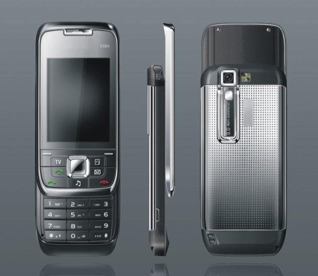 China Mobile Phone Mini E66 E66v With Tv Function
