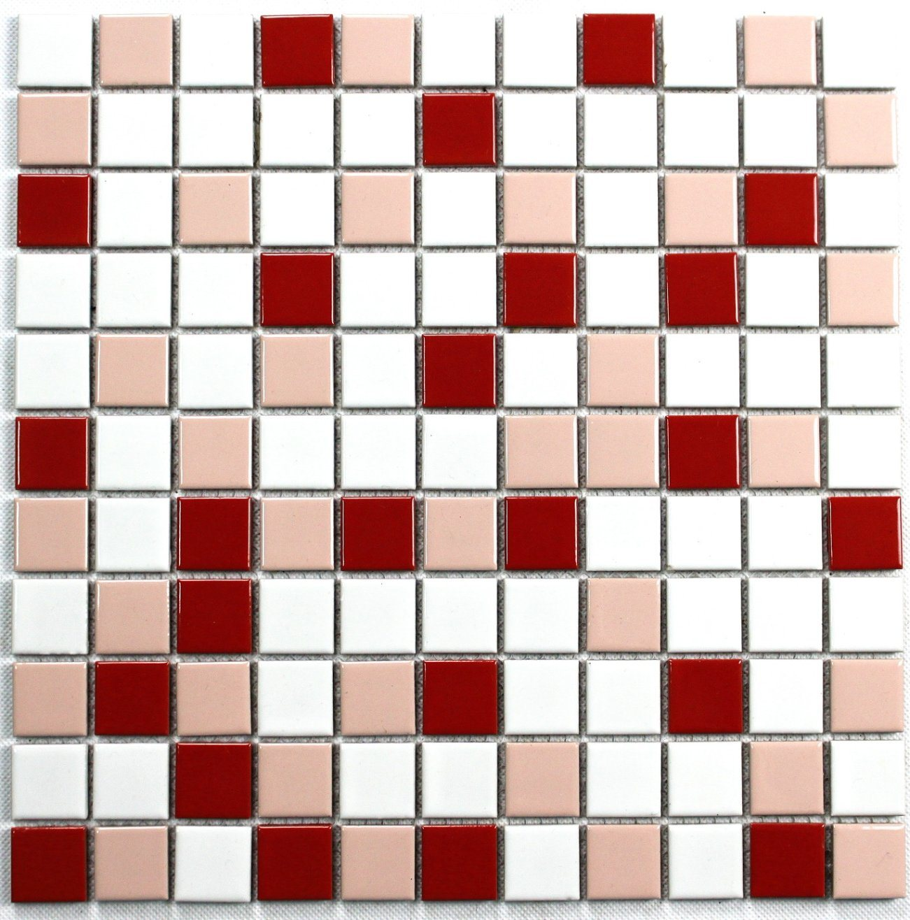 China Toilet Mosaic Tiles Tv Background Wall Pink White Red Bathroom Slip Proof Floor Tiles Kitchen Wall Tiles China Mosaic Toilet Mosaic