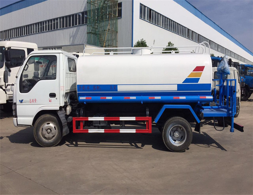 China Isuzu Chassis 6000 Liters Water Tank Truck Water Delivery ...