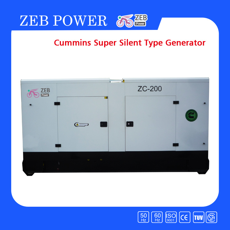 [Hot Item] Super Silent Cummins Diesel Generators (ZC22-ZC1000)