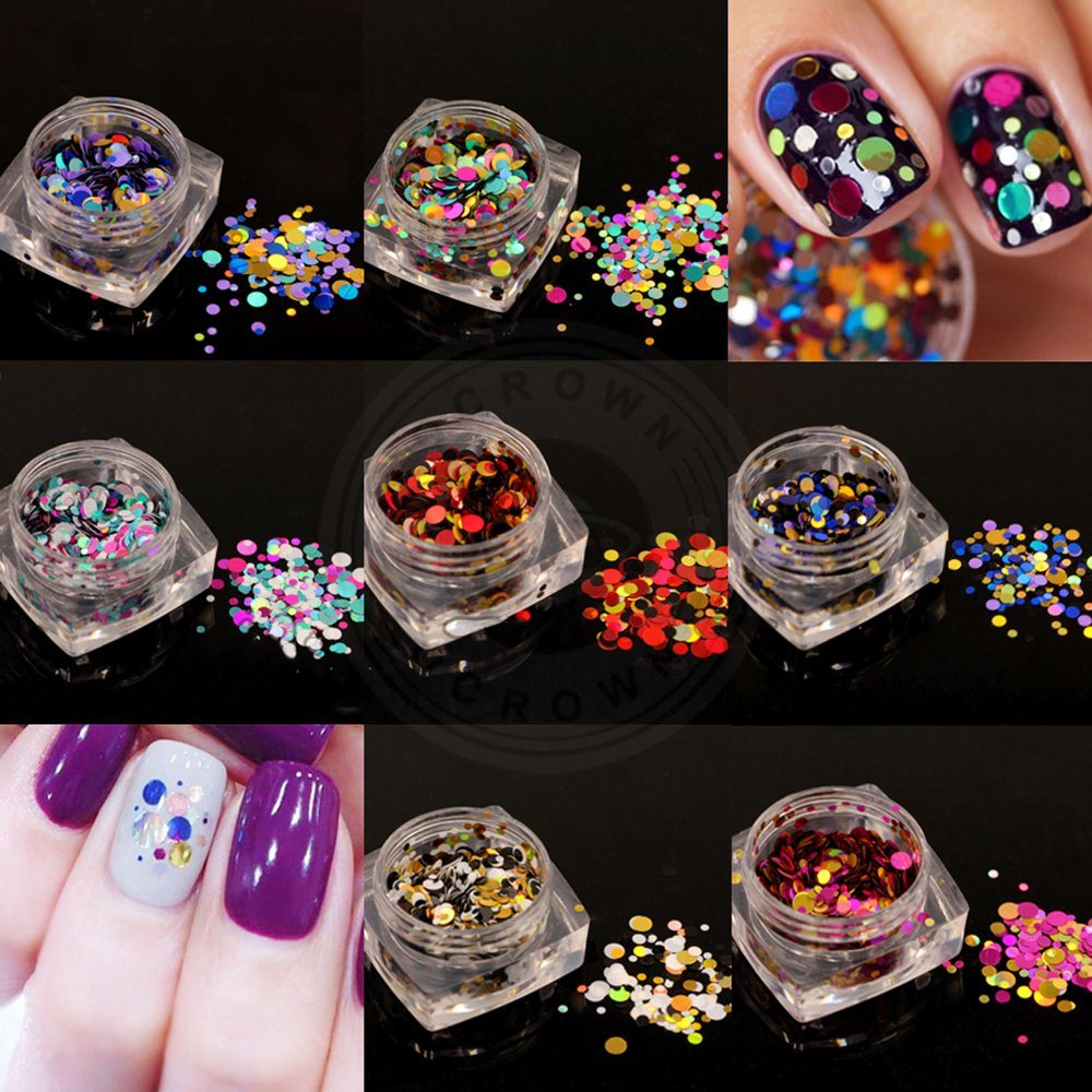 China Starry Holographic Laser Holo Nail Glitters Flakes for Nail ...