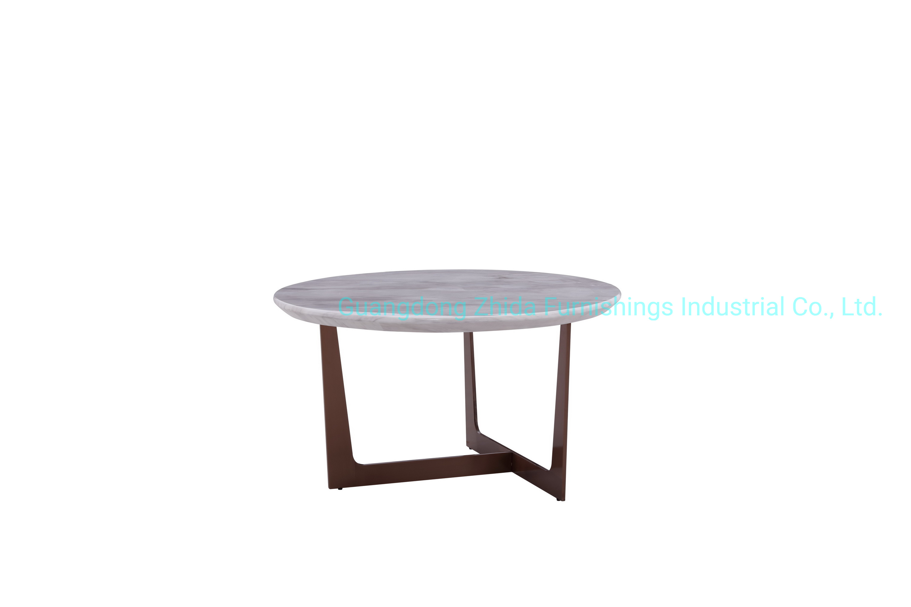 - China White Marble Top Side Table Tea Table Coffee Table - China